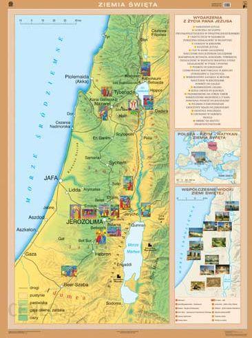 Mapa Scienna Ziemia Swieta Mapa Scienna Ceny I Opinie Ceneo Pl