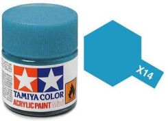 Tamiya Farba Akrylowa X14 Sky Blue Gloss 10ml Tamiya 81514