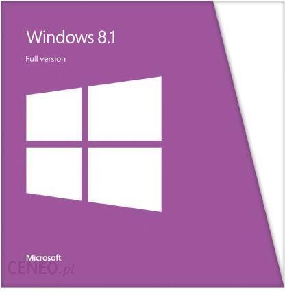 System Operacyjny Microsoft Windows 8 1 X64 Pl 1pk Dvd Oem Wn7 00604 Opinie I Ceny Na Ceneo Pl