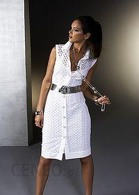 Długa sukienka biały bonprix Sukienki letnie białe w Bonprix