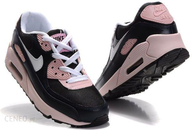 buty damskie czarno róźowe nike zimowe