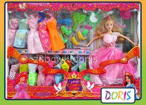 52feb261ce Lalka Hh Poland Lalka 11 5 Typu Barbie + Szafa Ubranka 14 Szt 62114 ...