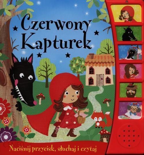 Czerwony Kapturek Książeczka dźwiękowa - zdjęcie 1