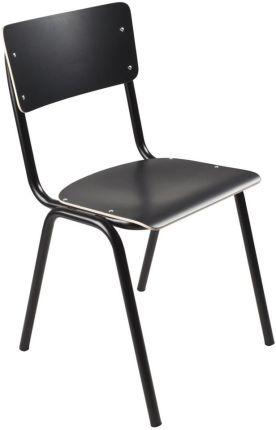 Czarne Krzesła Styl Loftowy Ceneo.pl