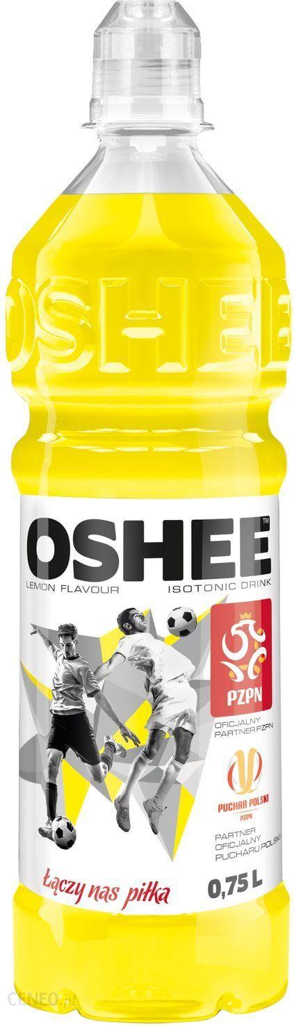 Oshee Napoj Izotoniczny O Smaku Cytrynowym 750ml Ceny I Opinie Ceneo Pl