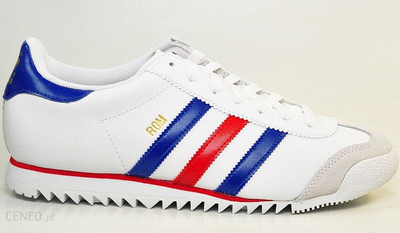 new styles f29bc 42350 Adidas ROM (V22776) ORIGINALS (biały, czerwony, niebieski) - Ceny i opinie  - Ceneo.pl