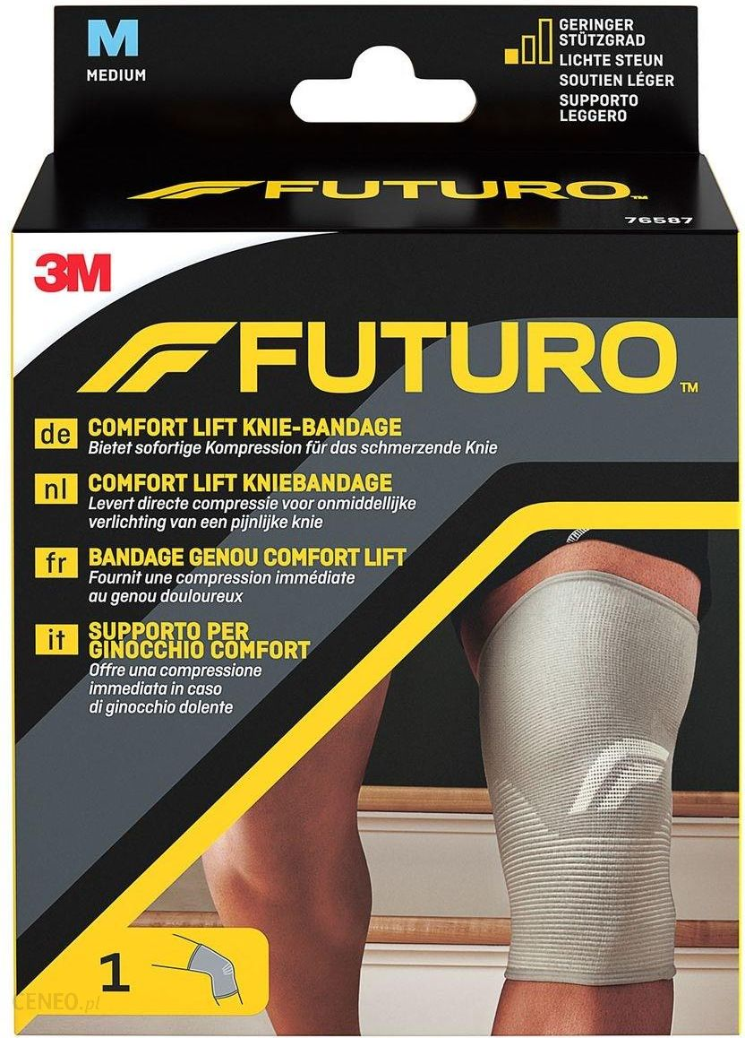 50e8dd3d34d30f FUTURO Comfort Lift Opaska kolana rozmiar M beżowa - Opinie i ceny ...