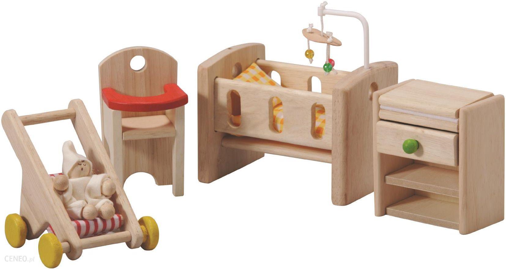 zestaw mebelków dla niemowlaka, plto-7329-plan toys, zabawki dla lalek