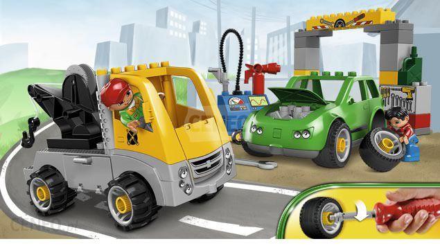 Klocki Lego Duplo Warsztat Samochodowy 5641 Ceny I Opinie Ceneopl