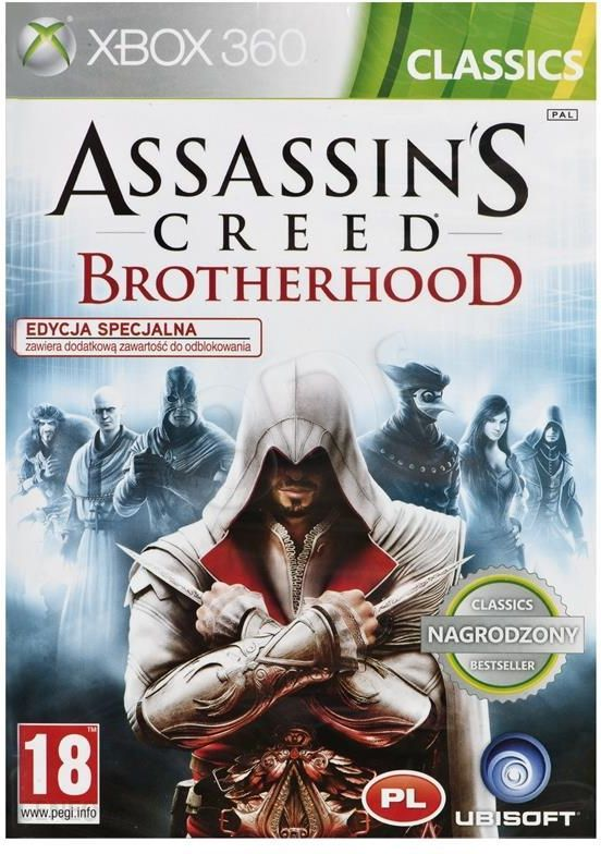 Assassins Creed Brotherhood Classic Gra Xbox 360 Ceneo Pl