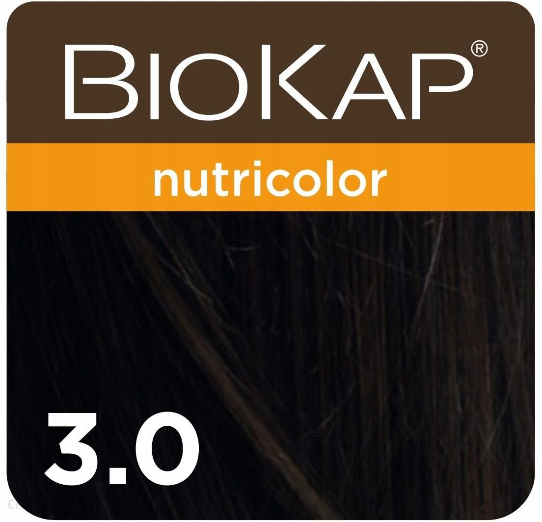 Biokap Nutricolor Farba Koloryzująca Do Włosów Kolor 3.0 Ciemny Brąz 140ml