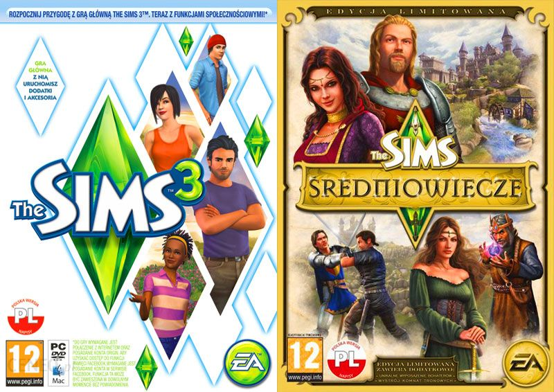 The Sims 3 The Sims Sredniowiecze Edycja Limitowana Gra Pc Ceneo Pl