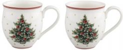 Villeroy&Boch zestaw 2 kubków X-mas tree Toy's Delight 340 ml VB-14-8585-8403