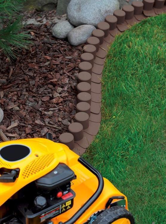Akcesoria Ogrodzeniowe Prosperplast Palisada Ogrodowa Obrzeze 4 05m X 6cm Ciemny Braz Ceny I Opinie Ceneo Pl