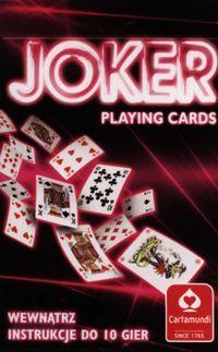 Joker Karty Do Gry 55 Listkow Gra Planszowa Ceny I Opinie Ceneo Pl