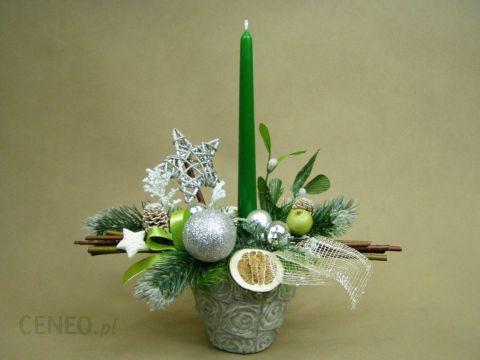 Boże Narodzenie Stroik Zielony Kamionka Stroik Na święta 568 Opinie I Atrakcyjne Ceny Na Ceneopl