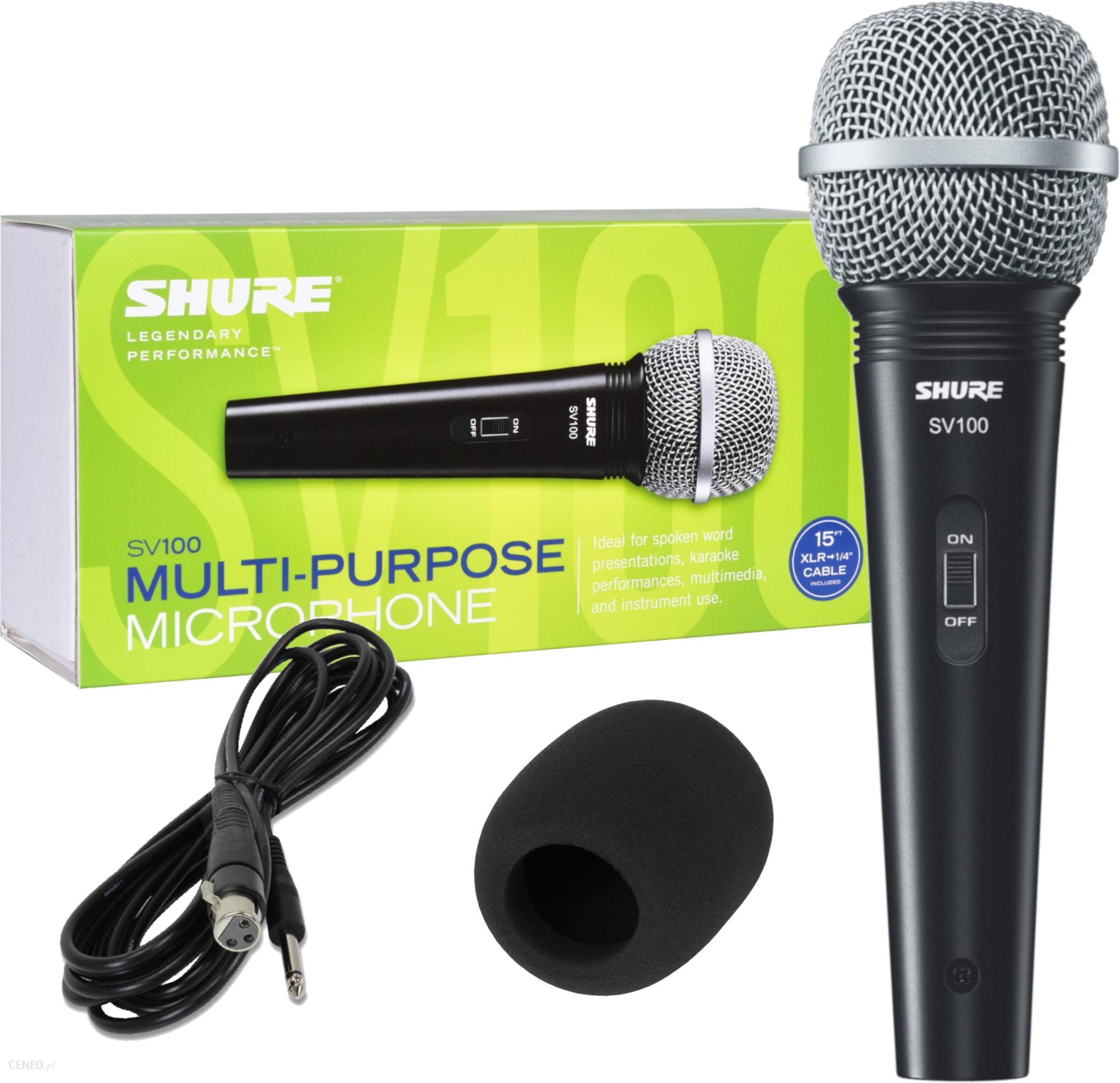 Mikrofon Shure Sv 100 Ceny I Opinie Ceneo Pl
