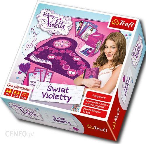 Trefl Gra Swiat Violetty 01054 Gra Dla Dziecka Ceny I Opinie Ceneo Pl