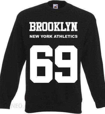 6e40ae0c Bluza New York Athletics Brooklyn 69 - czarny - Ceny i opinie - Ceneo.pl