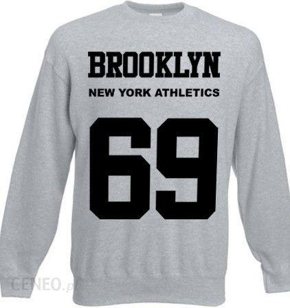 44c53653 Bluza New York Athletics Brooklyn 69 - szary - Ceny i opinie - Ceneo.pl