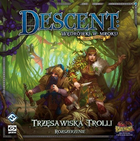 "Stalo žaidimas ""Descent: Trolls Quarries"""