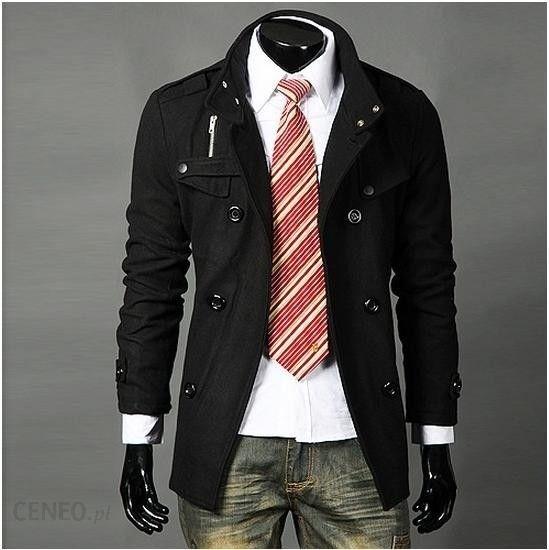 Krótka czarna kurtka męska Japan Style K4390 Ceny i opinie Ceneo.pl