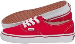 vans authentic damskie bordowe