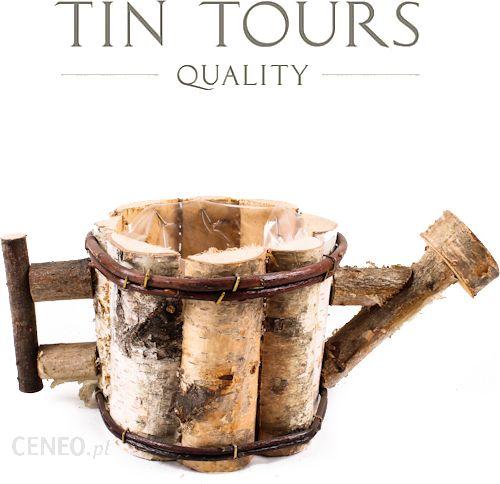 Tin Tours Doniczka Z Brzozy W Kształcie Konewki 32x17x12cm Ceny I Opinie Ceneopl
