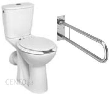Koło Nova Top Wc Kompakt Bez Barier Komplet Z Deską I Poręczą