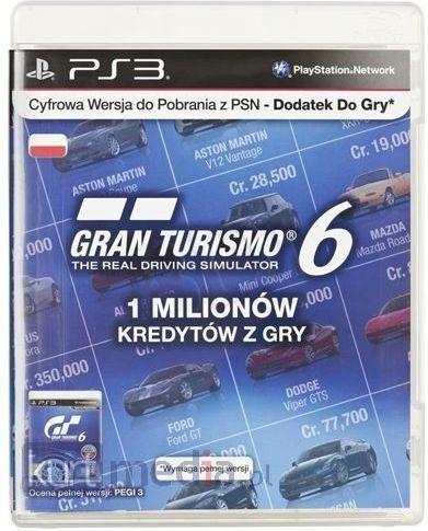 Sony Playstation Gt6 Karta Doladowujaca 39pln 9286288 Karta Pre