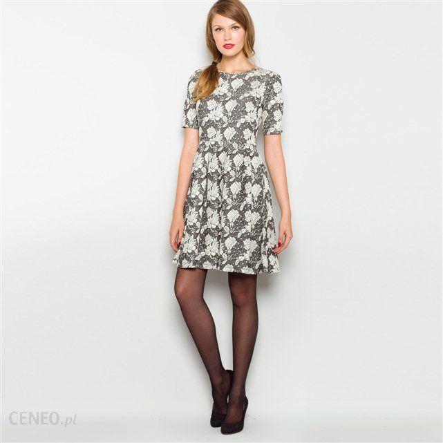 fa8181ed4d Sukienka z dzianiny żakardowej Mademoiselle R - Ceny i opinie - Ceneo.pl