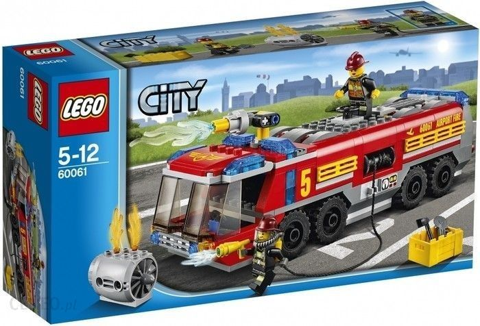 Klocki Lego City Lotniskowy Wóz Strażacki 60061 Ceny I Opinie