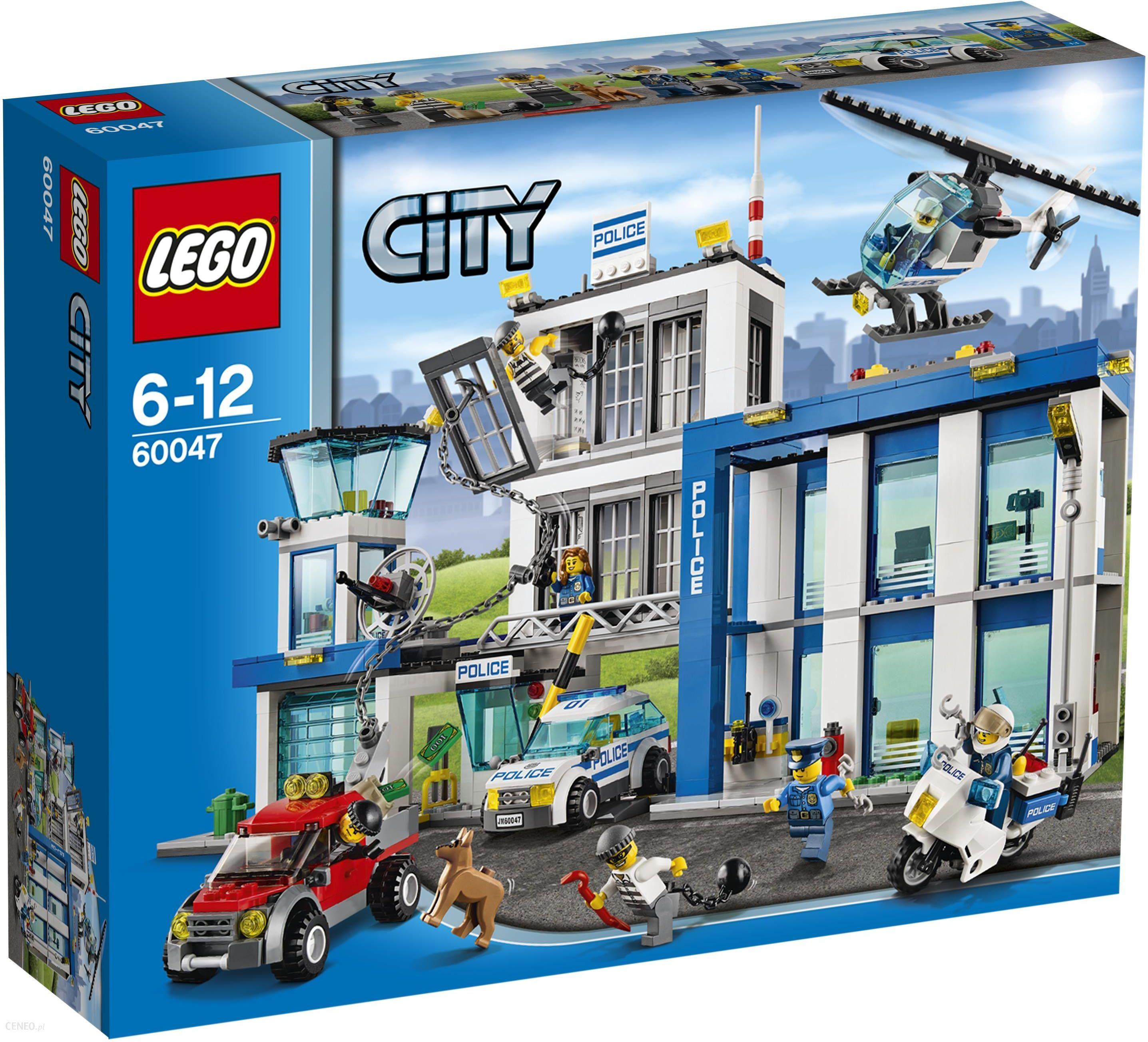 Klocki Lego City Posterunek Policji 60047 Ceny I Opinie Ceneopl