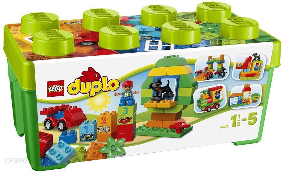 Klocki Lego Duplo Uniwersalny Zestaw Klocków 10572 Ceny I Opinie