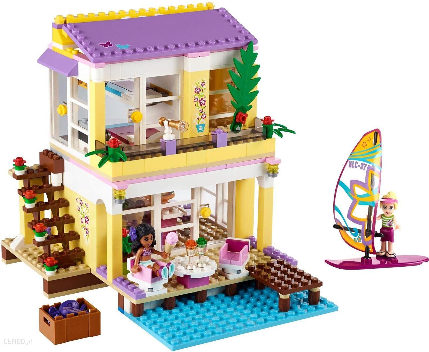 Klocki Lego Friends Letni Domek Stephanie 41037 Ceny I Opinie