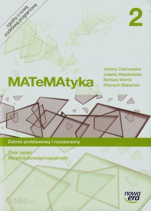 matematyka 2 liceum nowa era zakres rozszerzony zbiór zadań pdf
