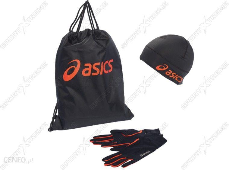 Asics do biegania Czapka + Rękawiczki + plecak Accessories Running Pack 6199120 Ceny i opinie Ceneo.pl