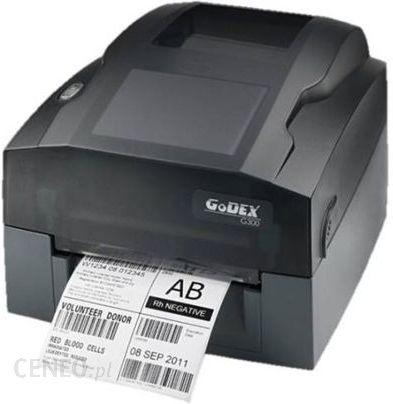Nowość Drukarka etykiet Godex Drukarka Termotransferowa G330 (Usb, Rs232 KQ33