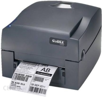 Bardzo dobry Drukarka etykiet Godex Drukarka Termotransferowa G500-Up (Usb RM96