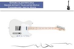 Squier Affinity Telecaster Maple Fingerboard Arctic White