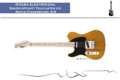 Squier Affinity Telecaster Left Handed Maple Fingerboard Butterscotch Blonde