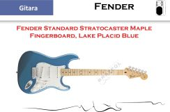 Fender Standard Stratocaster Maple Fingerboard Lake Placid Blue - zdjęcie 1