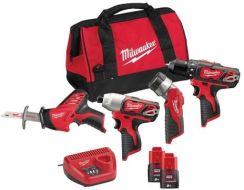 Milwaukee M12 BPP4A-202B 4933441240