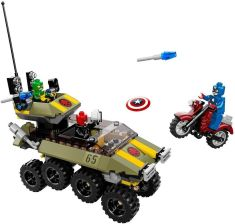 Lego Super Heroes Captain America Kontra Hydra 76017