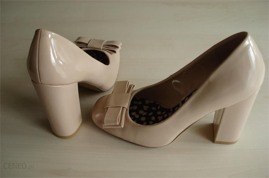 a3cfe7c6 Kremowe buty na obcasie - Ceny i opinie - Ceneo.pl
