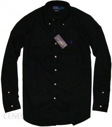07ffd92c0e5f RALPH LAUREN Custom Fit koszula Polo Black (czarna) - Ceny i opinie ...