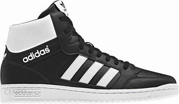 buty męskie adidas originals pro play białe