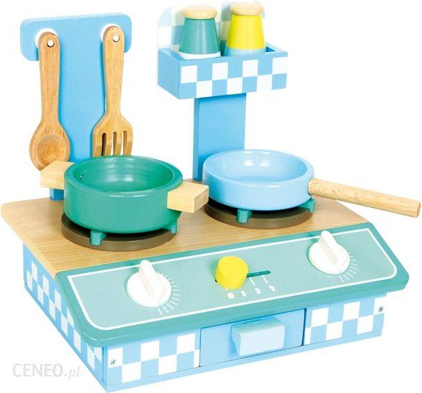 Small Foot Design Przenosna Kuchnia Dla Dzieci Niebieska Scianka