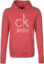 Calvin Klein Czerwona bluza z kapturem