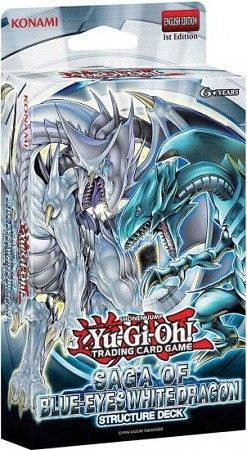 Karty Yu Gi Oh Tcg Saga Of Blue Eyes White Dragon Structure Deck